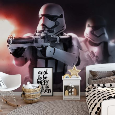 Star Wars wallpaper - photo wall